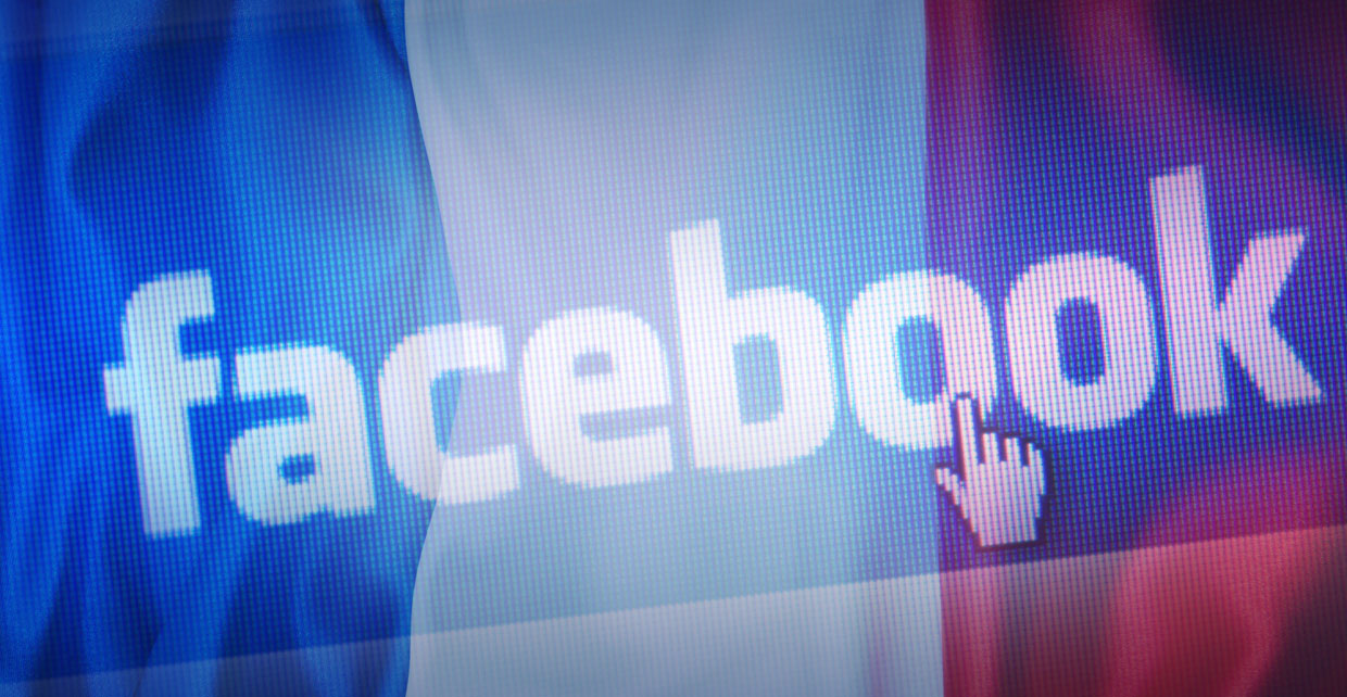 Facebook France French Court